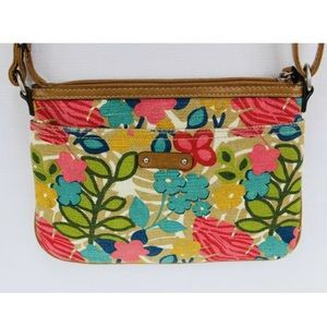 Relic Floral Pattern Crossbody Small HandBag